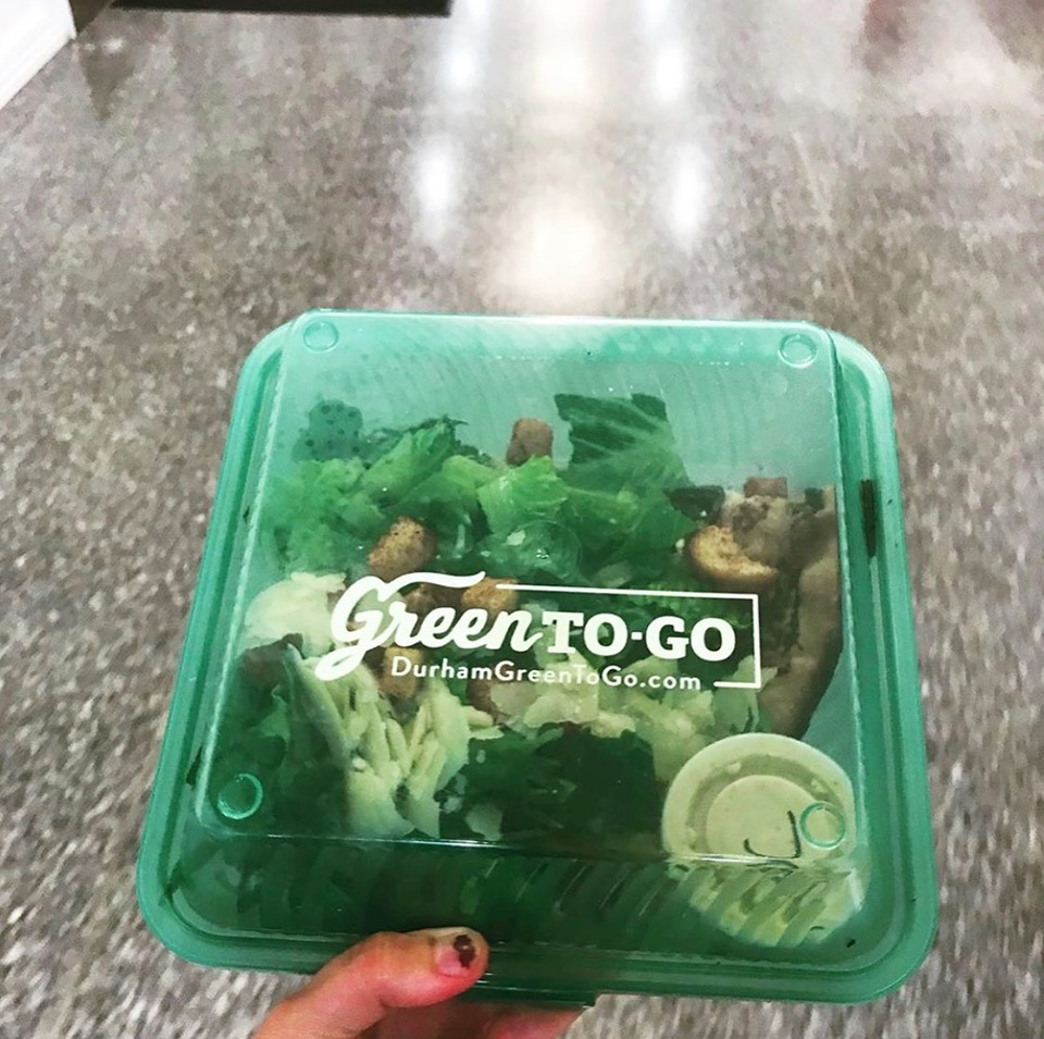 this photo shows the attractive GreenToGo packaging