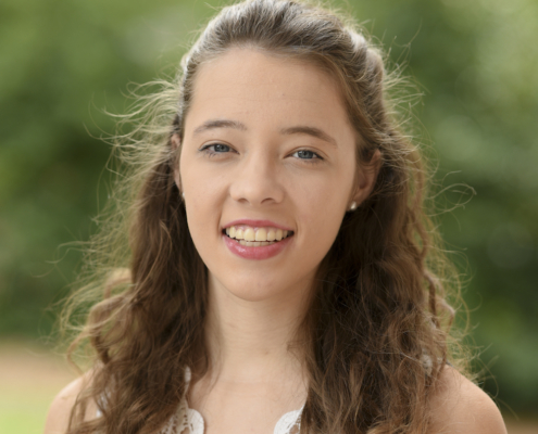 this photo depicts Hailey McMahon, winner of the Sullivan Scholarship at Berry College