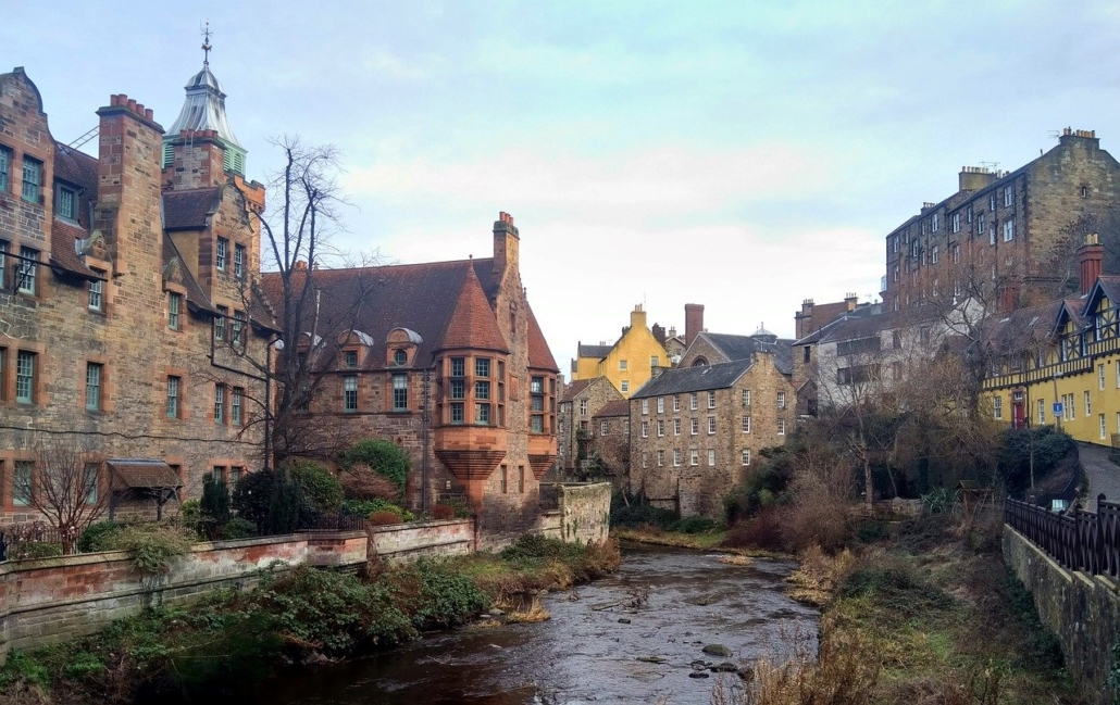 this photo shows edinburgh, home base for the Sullivan Study Abroad in Scotland program