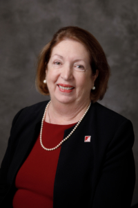 Dr. Kathleen Cramer, winner of the Algernon Sydney Sullivan Award at the University of Alabama