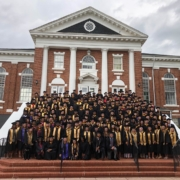 this photo shows students at Ferrum College who would benefit from the Ferrum Promise