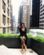 this photo shows Jasmine Babers, founder of Love Girls Magazine, in New York