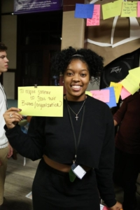 photo of India Larry, a student attendee of the Sullivan Foundation Ignite Retreat