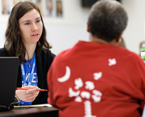 this is a photo of Sydney Tanner of Volunteer Income Tax Assistance