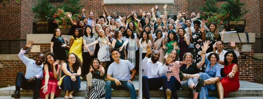 photo of students who completed the executive program in social impact strategy at the center for social impact strategy