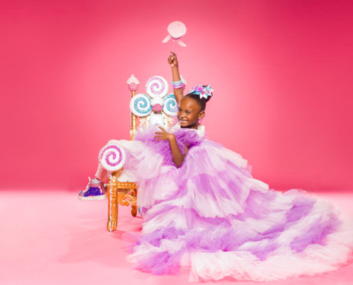 photo of Lily Adeleye, Target's youngest retailer and CEO of Lily Frilly