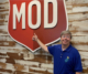 this photo shows a MOD Pizza employee, Eddy Barnhill, who has an intellectual/developmental disability