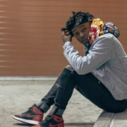 this photo shows rapper J.I.D. in 2016