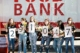 this photo shows the Beat Auburn Beat Hunger food drive team members at the University of Alabama